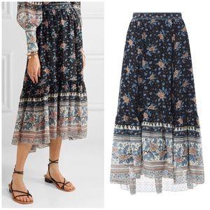 Ulla Johnson Marina floral skirt